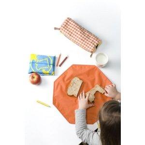 Poppedop HappyWrapper opvouwbaar broodtrommeltje en placemate