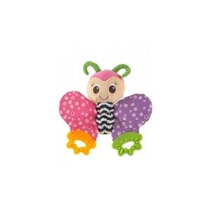 Playgro Teething Blankie vlinder bijtring