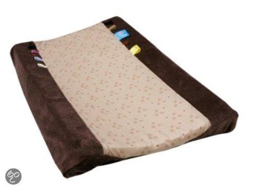 Snoozebaby aankleedkussenhoes natural brown