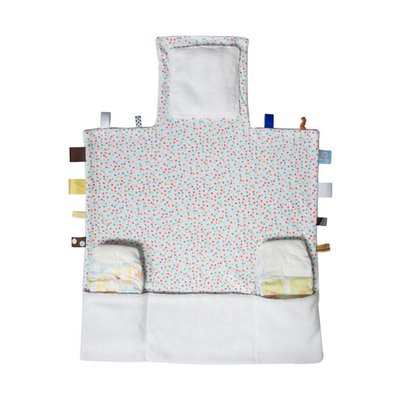 Snoozebaby verschoningsmat Easy Changing confetti white