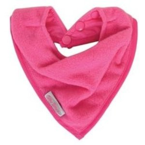 Silly Billyz cuddly fleece bandana slab fuchsia