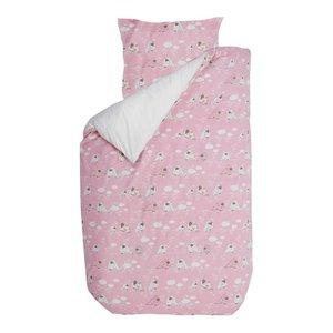 BINK Bedding dekbedovertrek sparrow roze