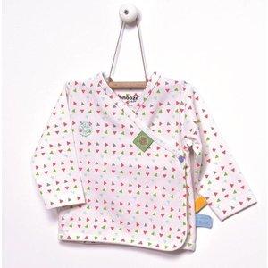 Snoozebaby cardigan triangle print