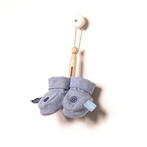 Snoozebaby slofjes blue melange