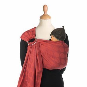 Babylonia draagdoek BB-sling Red chili