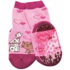 Ewers anti-slip sokken Stoppi kat roze
