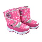 Snow Fun snowboots roze wit - SALE