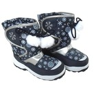 Snow Fun snowboots blauw wit