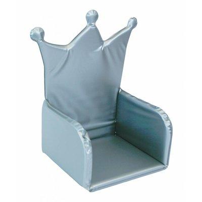Isi Mini stoelverkleiner zilver met kroon