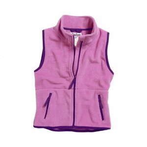 Playshoes fleece vest fuchsia paars