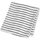 Lulujo swaddle hydrofieldoek bamboo Black Stripes