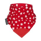 Cheeky Chompers Neckerchew slab Red Stars