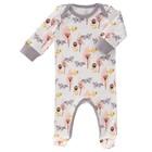 Fresk pyjama met voet Fox pink