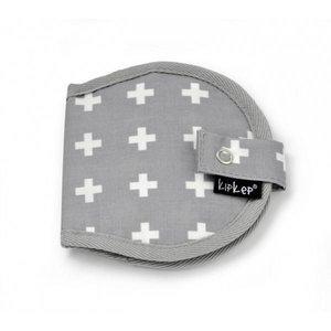KipKep Napper Nursery Wallet Crossy Grey