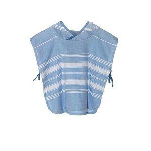 KipKep Blenker Poncho blauw