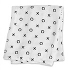 Lulujo swaddle hydrofieldoek bamboo Hugs & Kisses