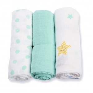 Lulujo swaddle hydrofieldoek medium Dreamland