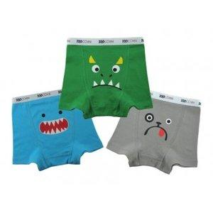 Zoocchini boxershorts boy green multi