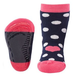 Ewers Anti-slip Sokken Stoppi Navy Heart - Ewers