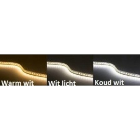 Wit licht LED strip 5 mtr