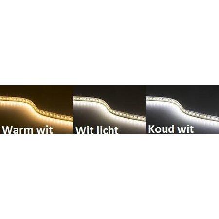Wit licht LED strip 5 mtr - Waterproof