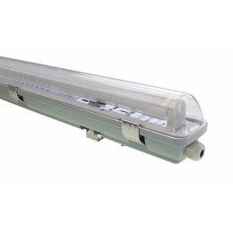 LED TL Armatuur 'slagvast' (PC+PC) 60cm - 2 buis