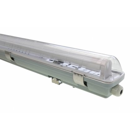 LED TL Armatuur 'slagvast' (PC+PC) 120cm - 2 buis