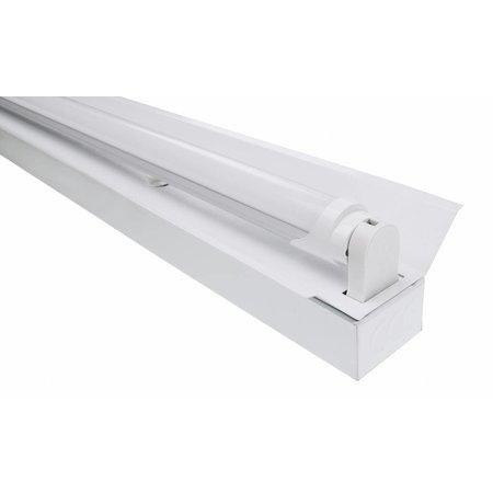 LED TL Trog armatuur 120cm - 1 buis