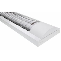 LED TL armatuur softline grill 120cm - 2 buis