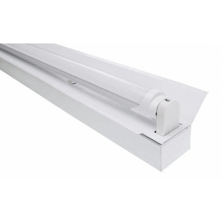 LED TL Trog armatuur 60cm - 1 buis
