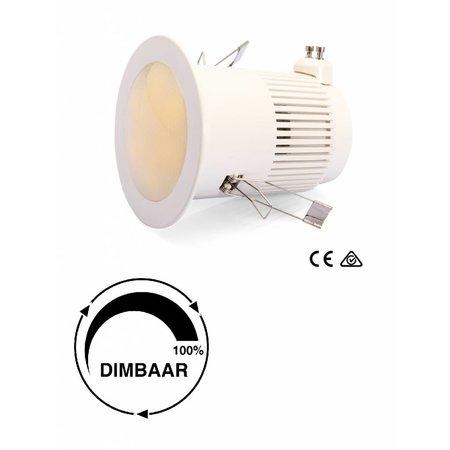 LED downlight 10W incl aansluitsnoer 3mtr (wit licht)