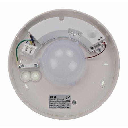 LED plafonniere met bewegingsmelder - type 6+