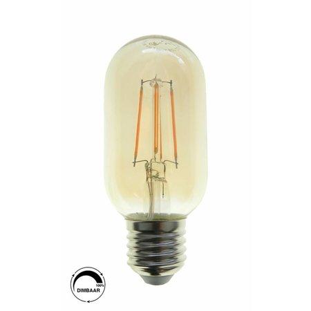 LED filament T45 - E27 Amber