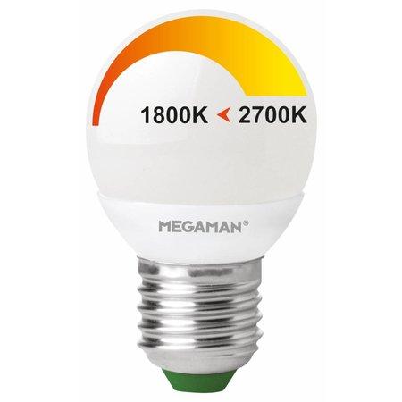 LED ping pong E27 4W 230V - Dim to Warm