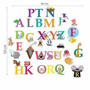 Alfabet met dieren
