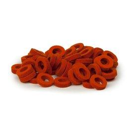 Natural Felt rings Orange