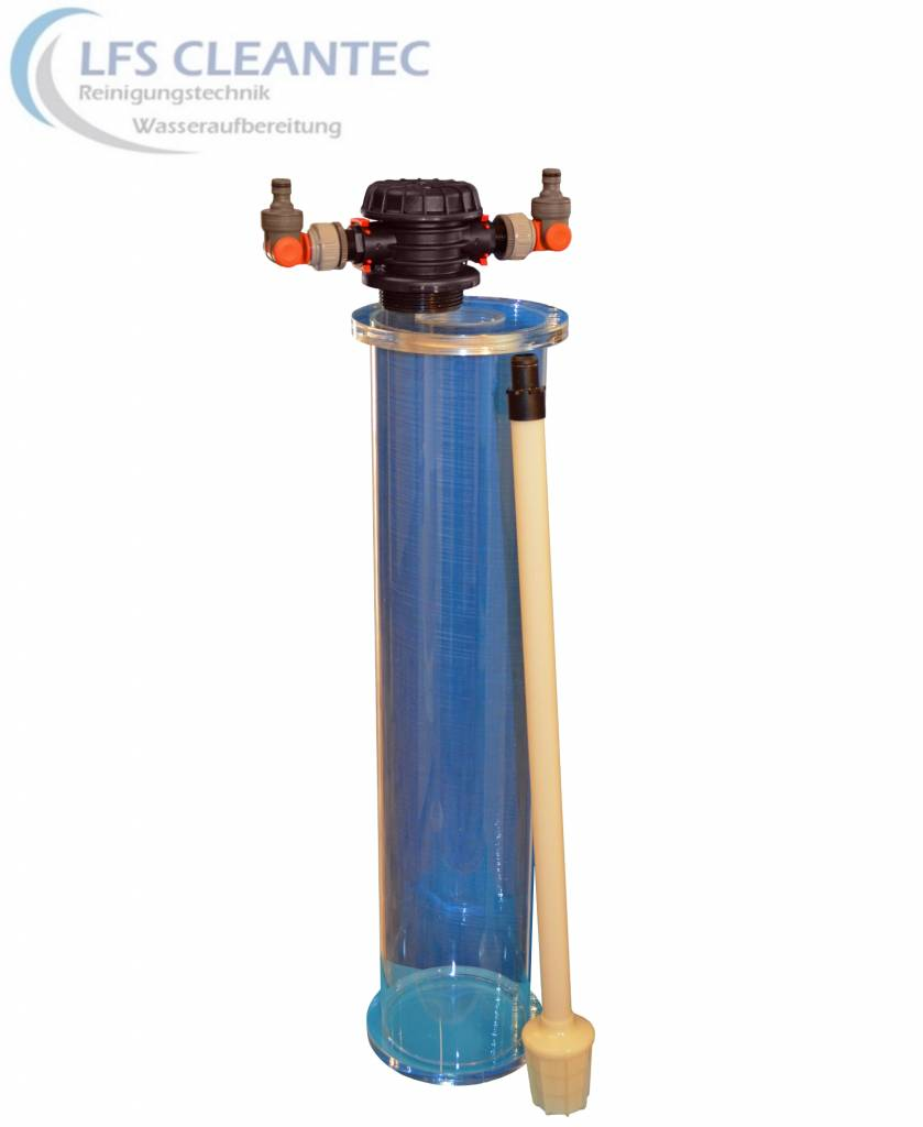 LFS CLEANTEC Filtersäule aus Acrylglas