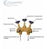 LFS CLEANTEC Montageblock für Wasseraufbereitungsanlagen