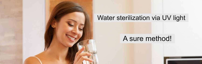 UV sterilisation
