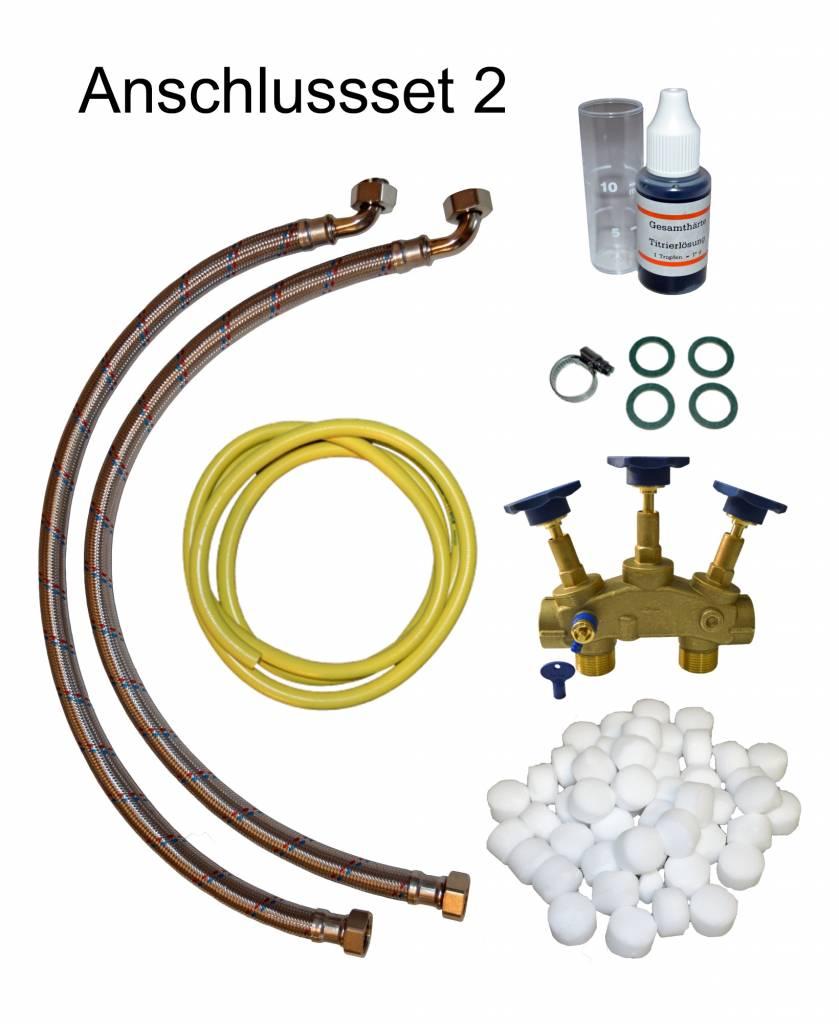 LFS CLEANTEC Entkalkungsanlage mit großem Salzvorrat und Harzinhalt