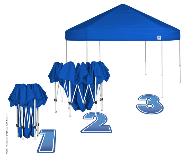 123 Hub 60 sec tent