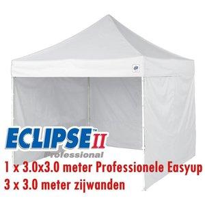 Eclips II Nergens zo goedkope Deal paket 1x Eclips 3.0 meter + 3 zijwanden van 3.0 meter Pro