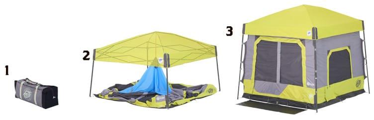 camping binnentent