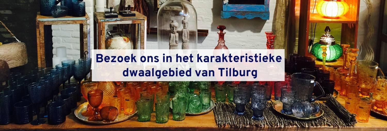 Bezoek ons in het karakteristieke dwaalgebied van Tilburg