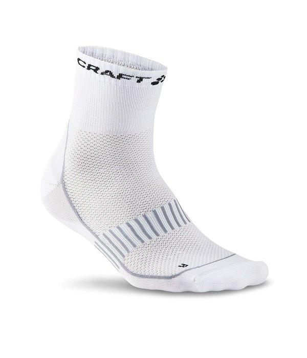 CRAFT Sportswear® Cool Training 2-pack sokken wit unisex