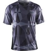 CRAFT Sportswear® Precise sportshirt Geo/Zwart heren