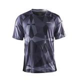 Craft Precise sportshirt Geo/Zwart heren