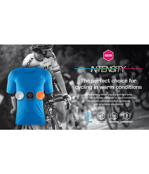 Craft Cool Intensity RN SS Thermoshirt wit heren