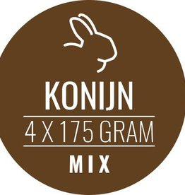 Konijn-mix 10 x 700gram