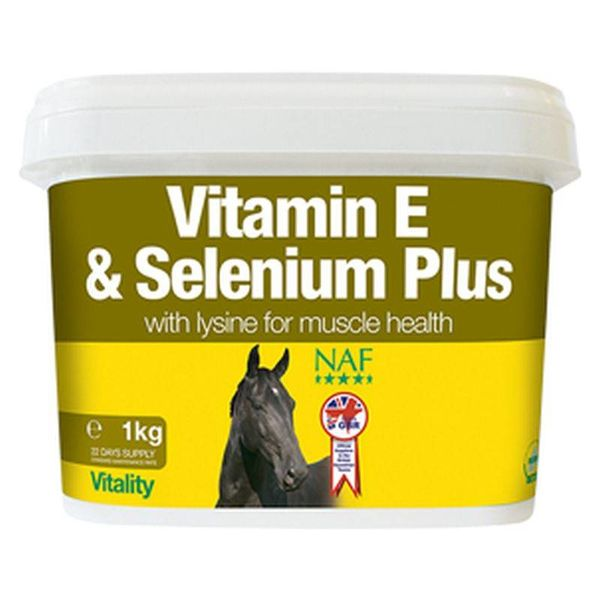 Vitamine E en Selenium Plus